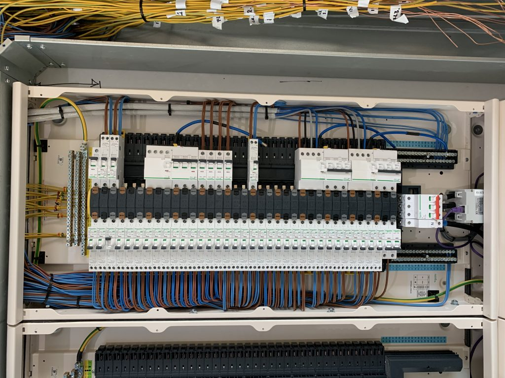 """It has been a privilege to be involved with and work for such a renowned company, made even better by the praise we received from their Head of Technical;  """" Whilst walking through and checking on the implementation of the work, I was stuck by the exceptional high stand your electricians are working to. I have never seen DB wiring as neat and well organised before, it's almost 'Art'. If this is the standard of what you can see, I have great confidence in the standard of work I can't see. Please congratulate David's team on such an impressive working practice, true craftsmen."""""""